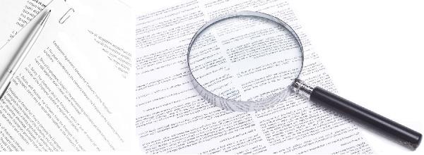 Юридические услуги по составлению договоров